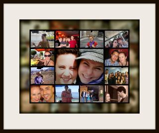 Photo editing service collage style online